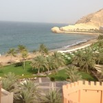 The view of Barr Al Jissah resort & spa, Shangri-La hotels