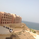 The view of Al Husn from Al Bandar hotel