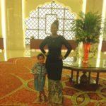 With my best friend Malaika Imani @Al Bandar hotel
