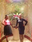 With my baby sis Tina @Al Tanoor restaurant