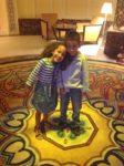 My kids @Al Tanoor restaurant