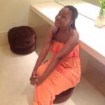 Tina spotted inside restroom @Al Bandar hotel