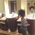 Malaika spotted inside restroom @Al Bandar hotel