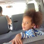 On our way to Adventure zone. Miss Malaika Imani