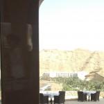 The view of other Shangri La Hotels Al Waha & Al Bandar from restaurant