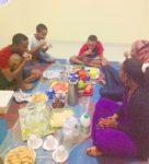 Iftar at Aunty Alia's house with her kids karibuni.