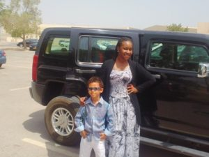Tina in Muscat (Baby Sis Tina Out & About in Muscat, Part I)