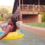 Tina @ The lazy river