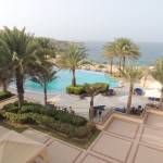 The view from our roon @Al Husn hotel