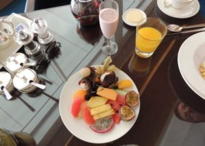 Shangri La, 2012 (Breakfast with hubby @Al Husn, Shangri-La Hotel. Aug, 2012)