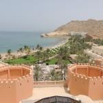 The view of Al Waha & Al Bandar hotel from Al Husn hotel
