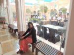 Baby sis Tina @Adventure zone, Shangri-La hotel