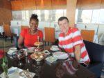 With hubby @Al Sultanah restaurant, Al Husn Hotel