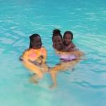 Mama Amika with Tina & Malaika