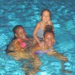 And here are girls Tina, Malaika & mama Amika