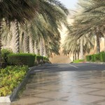 The way to Al Husn hotel