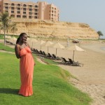 The view behind is hubby & I hotel, Al Husn