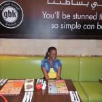 @gbk restaurant, Muscat City Center Mall