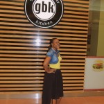 gbk Kitchen healthy fast food!! yummy chips,burger and onion rings....i want again and again.