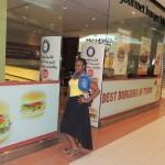 gbk Restaurant, healthy fast food. look at me guys......did u just see me?