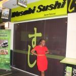 wusabi sushi...mmh yummy!