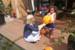 With cousin Amanda, Adelaide Australia. Oct, 2011