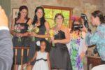 Flower girl with bridesmaid Natalie, big sis Hayley and sis Skye @Jenny's wedding Tasmania, Australia. Nov 2011