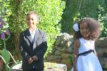 With ring bearer my brother Amani @Jenny's wedding. Nov, 2011