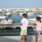 Kids enjoying the view