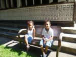 With my brother Amani in Chiang Mai Thailand. Nov, 2011