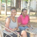 With my friend Christina @Rudy's farm