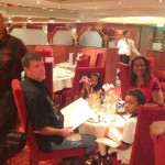 La familia, this was our dinner table for all 10nights onboard