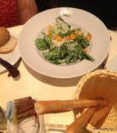 Caeser salad was yummy!