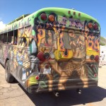 Aruba tour bus