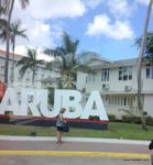 Oranjestad city in Aruba