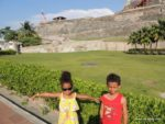 Amani & Malaika in Cartagena Colombia