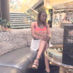 Zebra bar @ MSC Poesia Cruise Ship