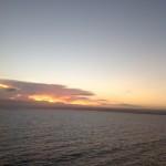 Sunrise near Jamaica