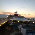 Sunrise @MSC Poesia Cruise Ship