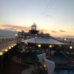 Sunrise @MSC Poesia Cruise Ship
