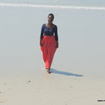Baby sis Tina @ Kipepeo Village Kigamboni