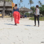 Baby sis Tina and Scolar @ Kipepeo Village Kigamboni