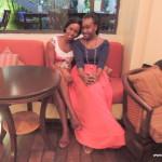 my baby Flora & baby sis Tina @ Southern Sun hotel