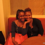 with my baby sis Tina @ Southern Sun hotel