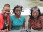 with Irene and Jessie @ Karambezi Sea Cliff hotel