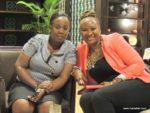 With my friend Tina @ Grand Hyatt Kilimanjaro hotel