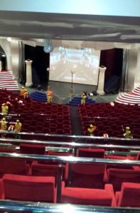 Theater ndani ya meli