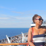 On MSC Divina cruise ship