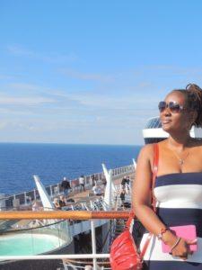 On MSC Divina cruise ship