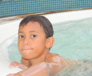The boy himself, Mr. Amani